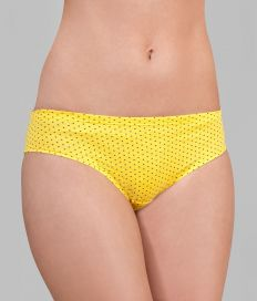 AboutU PB1034 Panty Yellow - Front