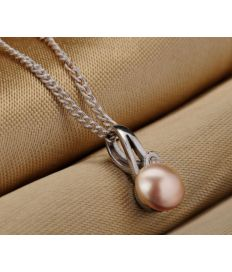 Groupon Tasveer_ 202-10 PENDANT+EARRING_SET_PEACH 1