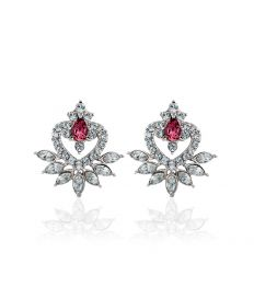 Groupon Tasveer_ Earrings_113008_PURPLE